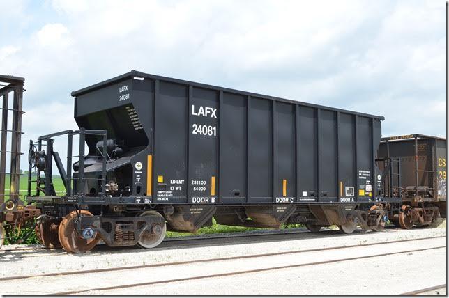 Csxths Rail Fanning Ballast Coke And Aggregate Hopper