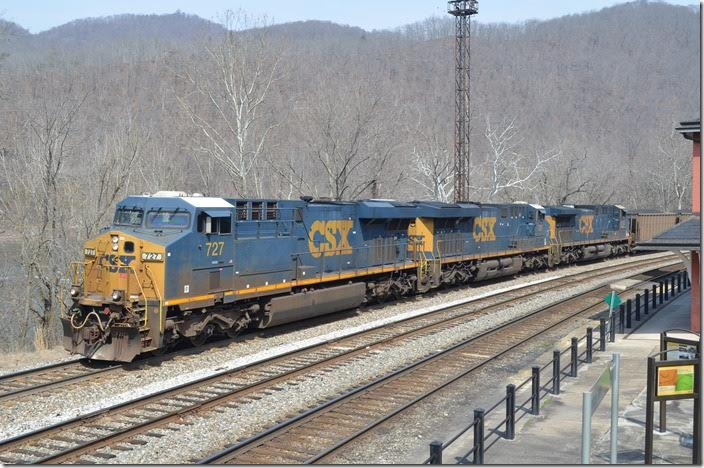 CSX 727-781-5103. View 2. Hinton WV.