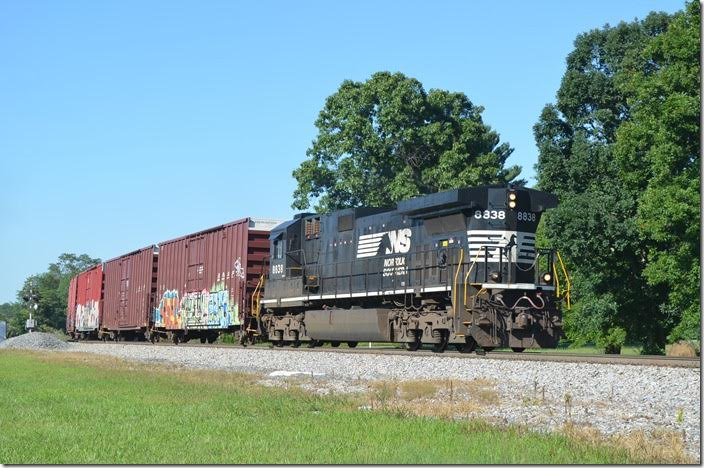 Csxths Rail Fanning Ns Roanoke District 07 31 And