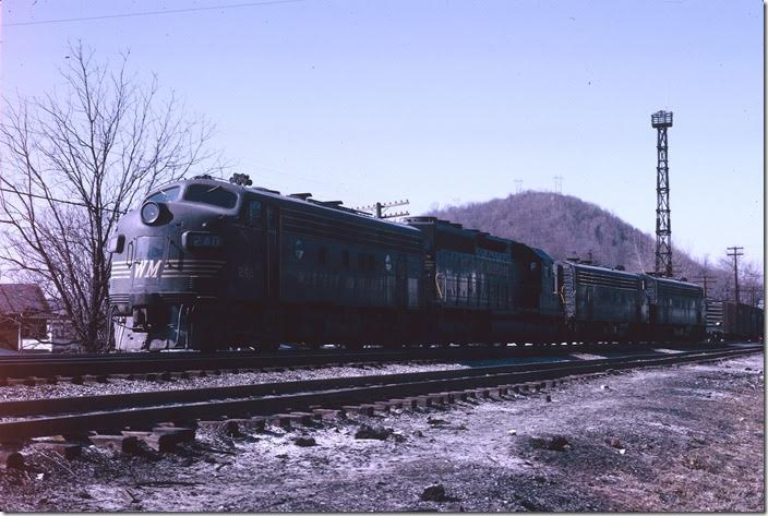 CSXTHS - Rail Fanning - Western Maryland Ry  - Ridgeley Yard